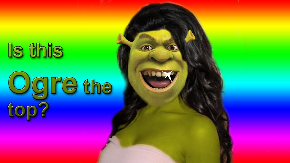 Kim Kardashian's Shrek-tastic make over! by HydroZen on