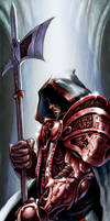Crimson Knight by FredHooper