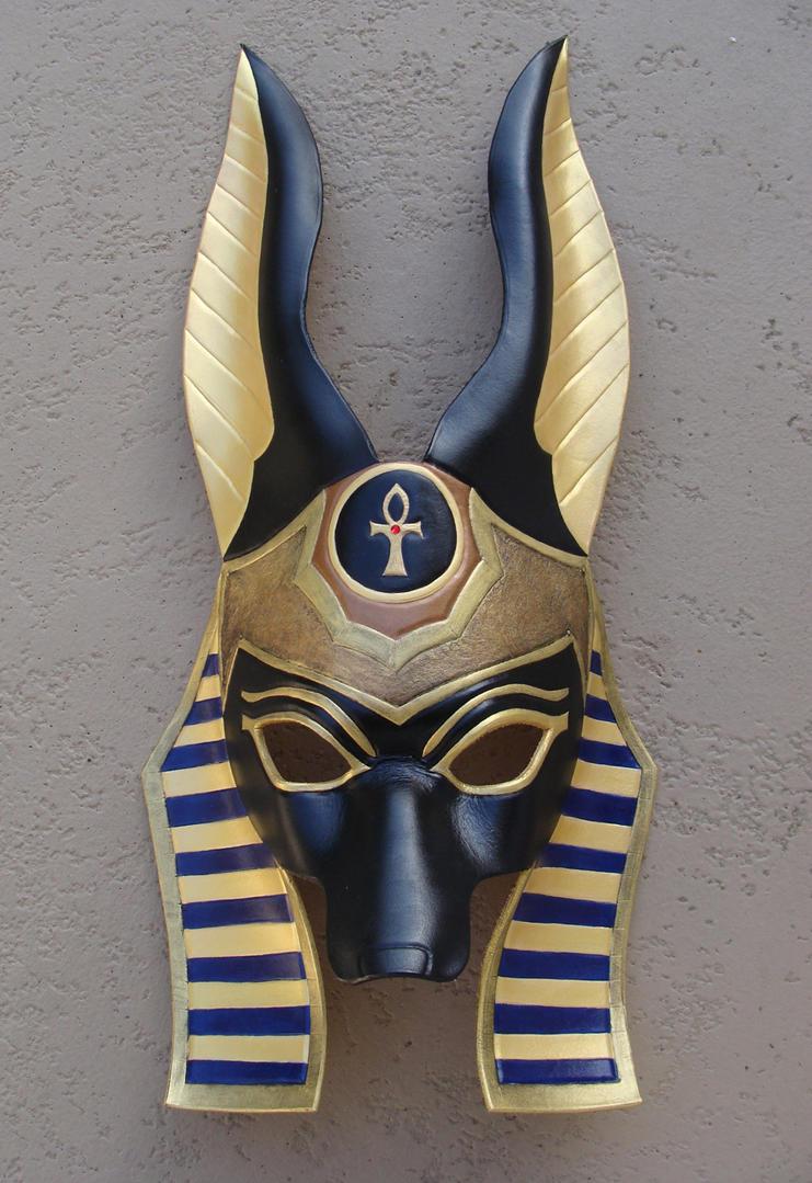ANUBIS Mask - Easy to make Egyptian mask - etsy.com