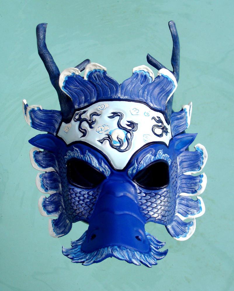 Chinese Water Dragon Mask by b3designsllc on DeviantArt