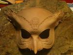 Hades Owl Mask WIP