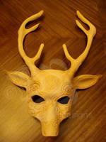 WIP Artemis Deer Mask by b3designsllc