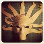 Poseidon Horse Mask WIP