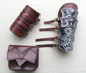 Altair Leather Accessories Pt1