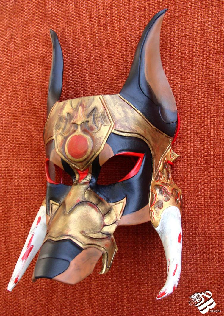 greek ares war hound leather mask by b3designsllc on deviantart