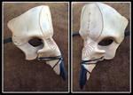 Leather Hawk Skull Fantasy LARP Mask