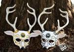 Twin Artemis Leather Masks