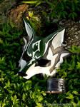 Twilight Princess: Link Wolf Leather Mask