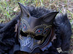 Dragon Age Inspired Dread Wolf Leather Mask
