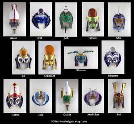 Egyptian Deity Lineup 2