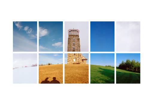 Quabbin Tower_Three Seasons