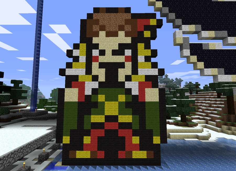 Minecraft Kefka by wwfjph
