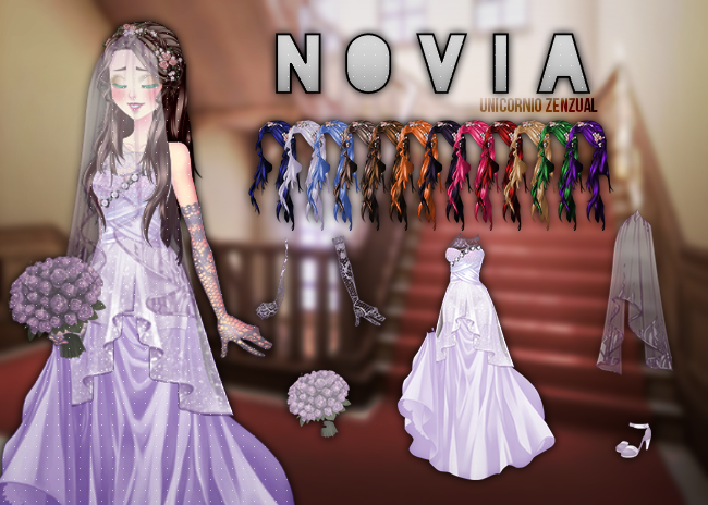 Pack Novia CDM by UnicornioZenzual