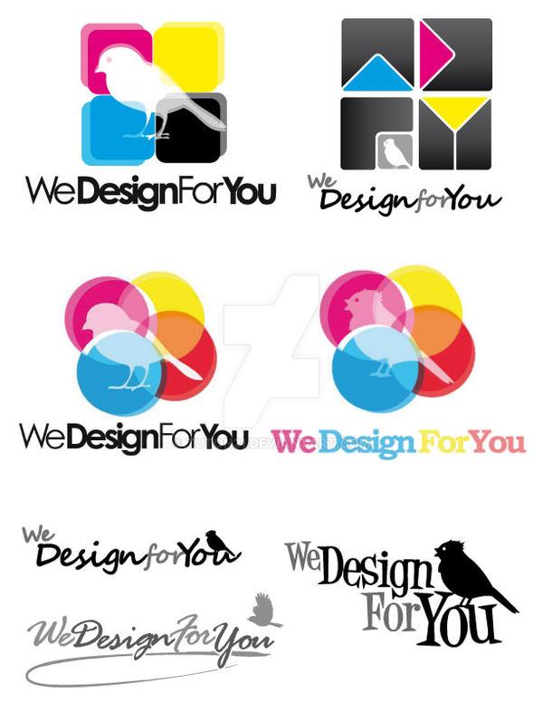 WeDesignForYou - Logo by tuton21