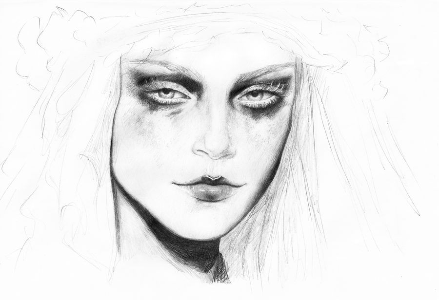 Portrait by Viera8