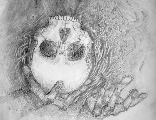 Skull by Viera8