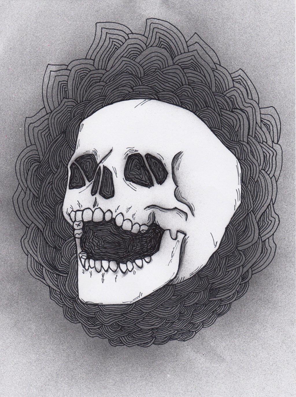 Skull 2 by Viera8