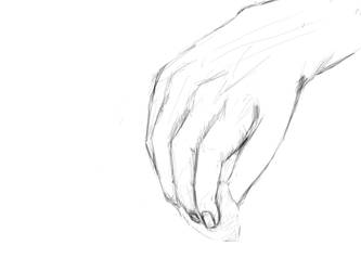 SKETCH YOUR HAND by TCH717