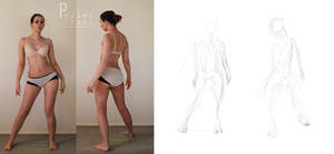 Character Design: Gesture Drawing by TCH717
