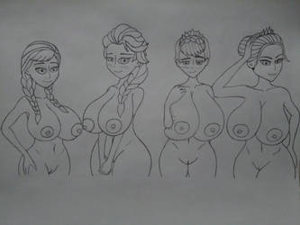 The royal family mammaries  by 11luckyme22