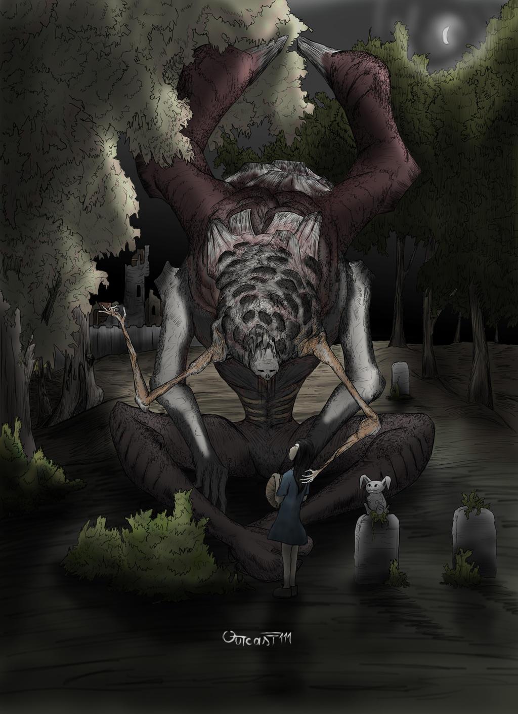 Shaun The Dark Elder by Outcast111