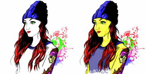 Tattoo Days deux by ARNOLDXYZ