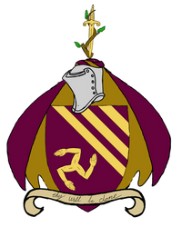 Coat of arms for 'religion' by ToyScoutNessie