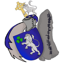 'Nation of the Gael' coat of arms by ToyScoutNessie