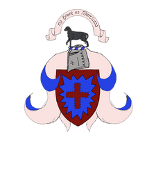 coat of arms for 'pain' by ToyScoutNessie