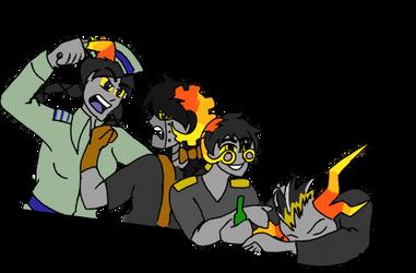Draw The Retrofuture Troll Squad by ToyScoutNessie
