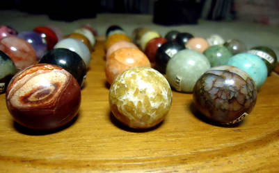 Mineral Ball Collection by AlienOffspring
