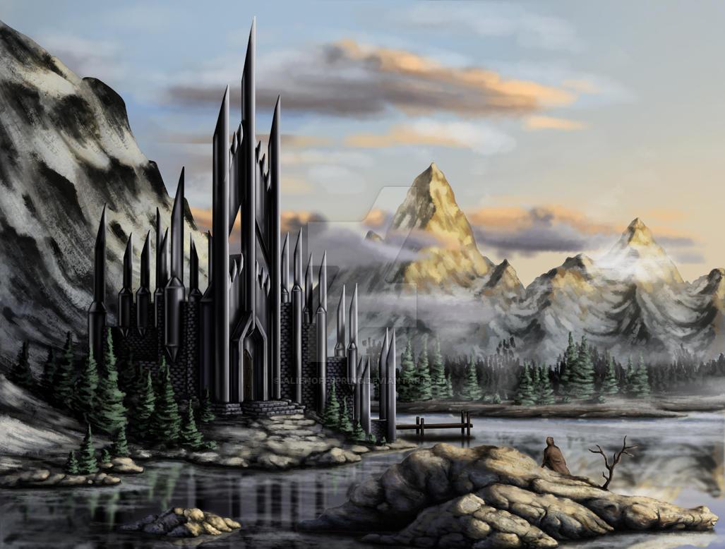 Lonely Castle by AlienOffspring