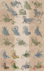 Creatures from Planet Dyploon