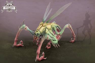 Alien Predator Final Render