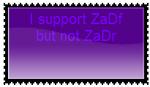 Supporter of ZaDf Anti ZaDr