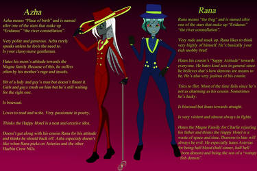The Hell Cousins Profile by TechouNoPenki