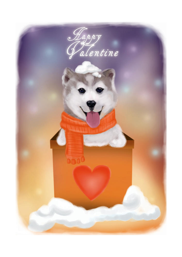 Happy Valentine by HeronArt