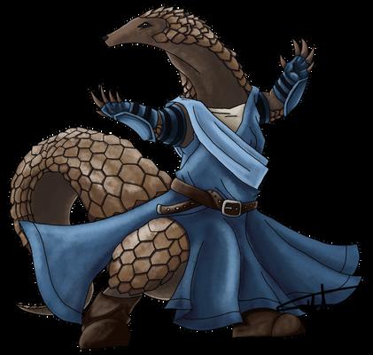 Pangolin Monk