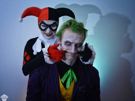 Joker and Classic Harley 10 by ThePuddins