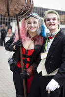 Joker and Harley [Injustice2] 2 by ThePuddins