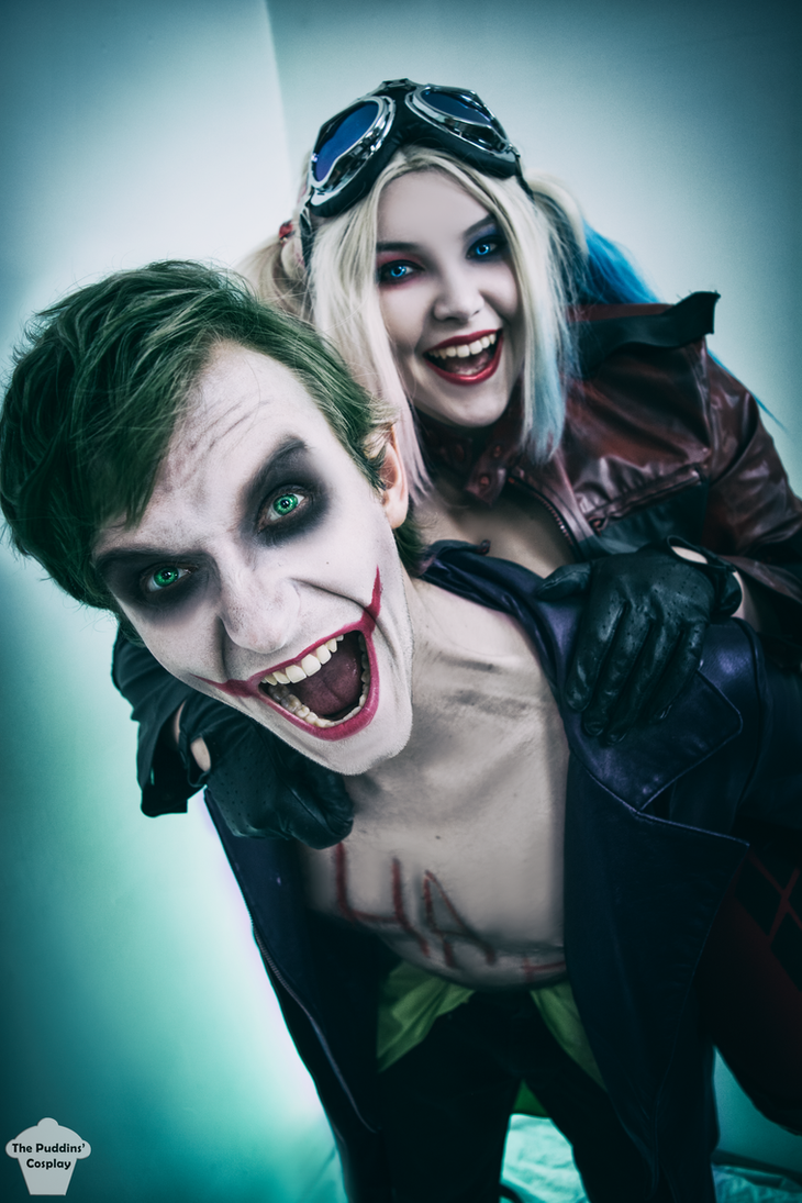 Harley And Joker Injustice 2 By ThePuddins