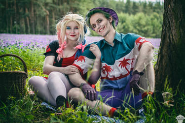 Harley Quinn [Rebirth] and Joker 2 by ThePuddins