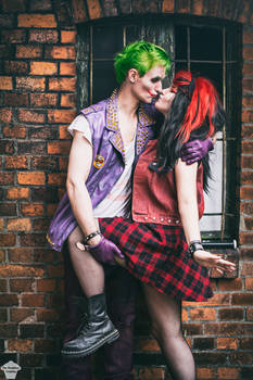 Punk Harley and Joker 2