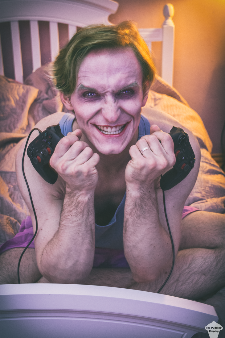 The Joker (Batman:TAS) by ThePuddins