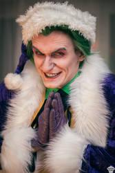 Joker (Christmas version) 6 by ThePuddins