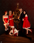 The Witcher cosplay group [Xmas ver.] 2