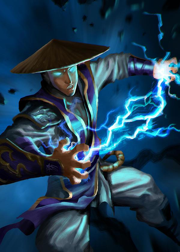 Mortal Kombat Raiden Drawings Mortal kombat - Young ...