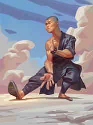 Monk - Ipad pro / Procreate