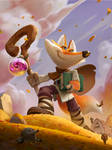 Wizard fox journey