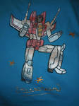 Starscream T-Shirt Colored by Starry-Sherry13